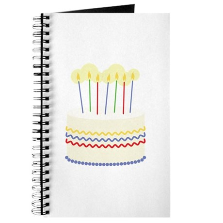 Birthday Cake Journal