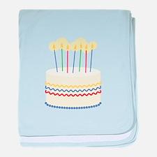 Birthday Cake baby blanket