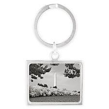 Washington Monument Landscape Keychain