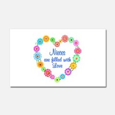 Niece Love Car Magnet 20 x 12
