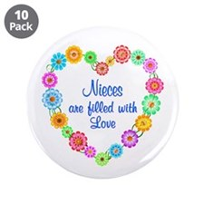 "Niece Love 3.5"" Button (10 pack)"