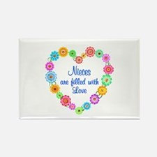 Niece Love Rectangle Magnet (10 pack)