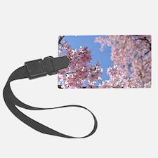 Cherry blossom Tree Luggage Tag