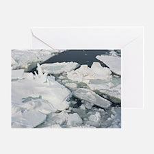 Abashiri Ice Greeting Card