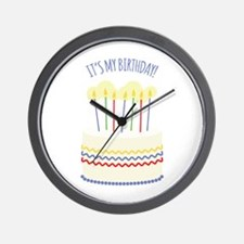 Its My Birthday Wall Clock