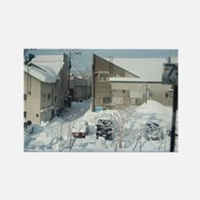 winter backstreets Rectangle Magnet