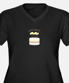 Happy Birthday Plus Size T-Shirt