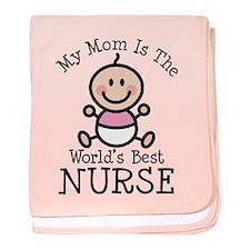 Best Nurse Mom baby blanket