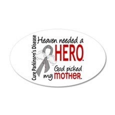 Parkinsons HeavenNeededHero1 Wall Decal