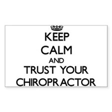 Keep Calm and Trust Your Chiropractor Decal