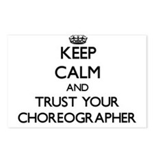 Keep Calm and Trust Your Choreographer Postcards (