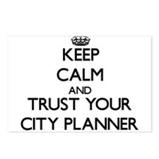 Keep Calm and Trust Your City Planner Postcards (P