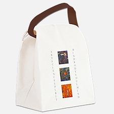 art science spirit poster.jpg Canvas Lunch Bag