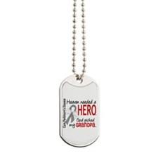 Parkinsons HeavenNeededHero1 Dog Tags