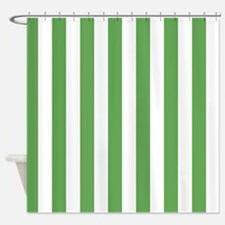 Green And White Stripe Shower Curtains Green And White Stripe Fabric Shower