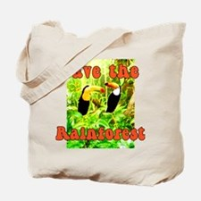 Save the Rainforest Shopping or Tote Bag