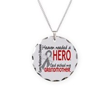 Parkinsons HeavenNeededHero1 Necklace