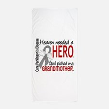 Parkinsons HeavenNeededHero1 Beach Towel