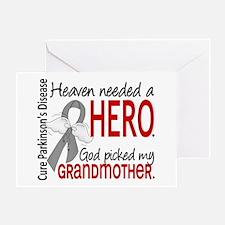 Parkinsons HeavenNeededHero1 Greeting Card