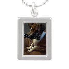Link Silver Portrait Necklace