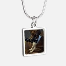 Link Silver Square Necklace