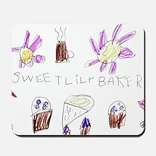 sweet lily bakery - zuzu design Mousepad
