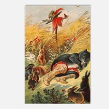 Fayry tale Puss in Boots Postcards (Package of 8)