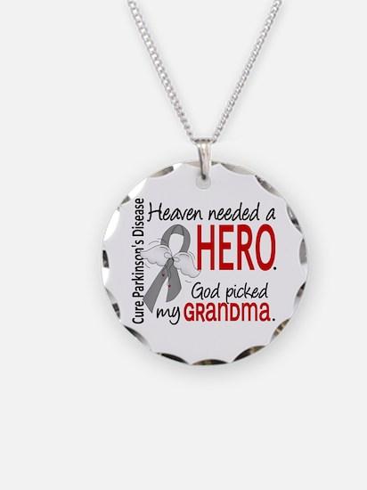 Parkinsons HeavenNeededHero1 Necklace