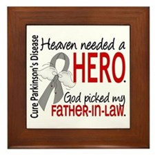 Parkinsons HeavenNeededHero1 Framed Tile