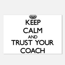 Keep Calm and Trust Your Coach Postcards (Package