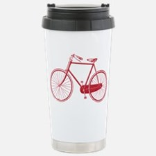 Old School Bike Design Travel Mug