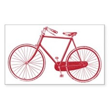 Old School Bike Design Decal