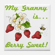 Sweet Granny Tile Coaster