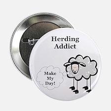 """Herding Addict 2.25"""" Button (10 pack)"""