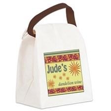 Jude's dandelion wine Canvas Lunch Bag