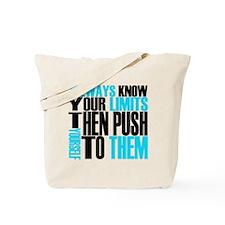 Push Limits Tote Bag