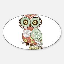 Multi Owl Decal