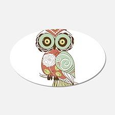 Multi Owl Wall Decal