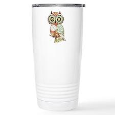 Multi Owl Travel Mug