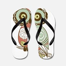 Multi Owl Flip Flops