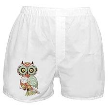 Multi Owl Boxer Shorts