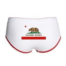California State Flag Women's Boy Brief