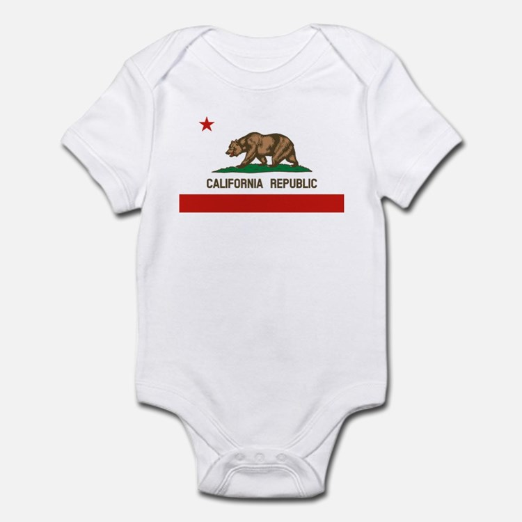 California State Flag Body Suit