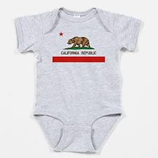 California State Flag Baby Bodysuit