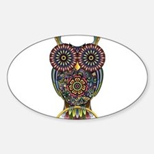 Vibrant Owl Bumper Stickers