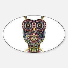 Vibrant Owl Stickers