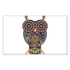 Vibrant Owl Decal