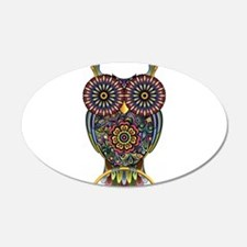 Vibrant Owl Wall Decal