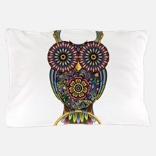 Vibrant Owl Pillow Case