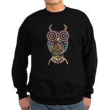 Vibrant Owl Sweatshirt